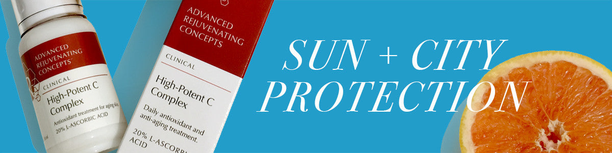 High-Potent C Sun and City Protection