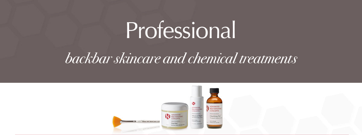 Professional Backbar Skin Care - Aesthetic Treatment