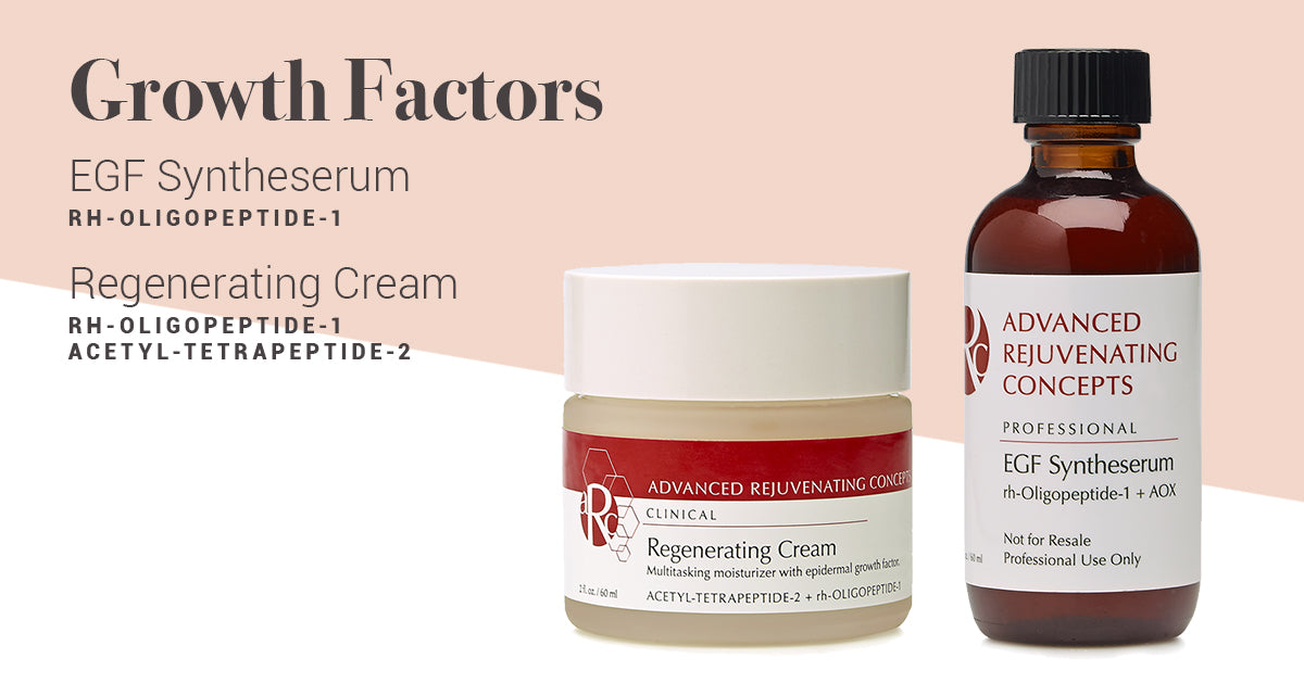 Skin Care Growth Factors EGF