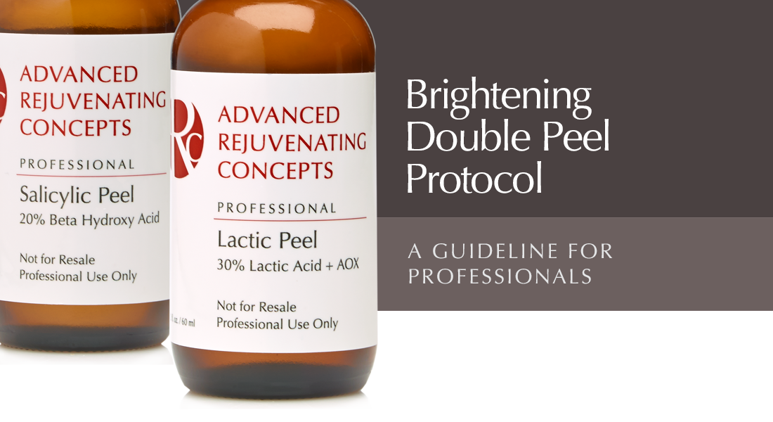 Salicylic and Lactic peel protocol