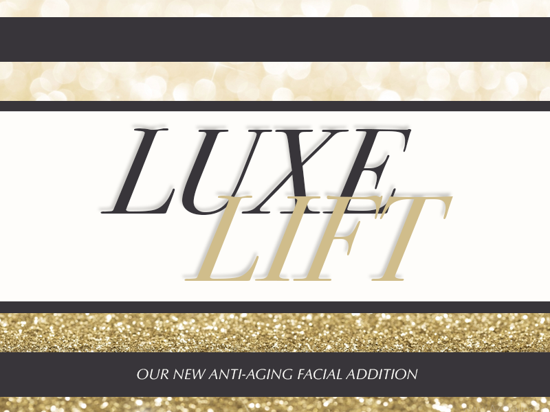 The luxe lift of 24k gold facial