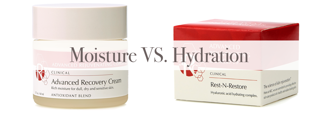 What's the difference between moisture and hydration?