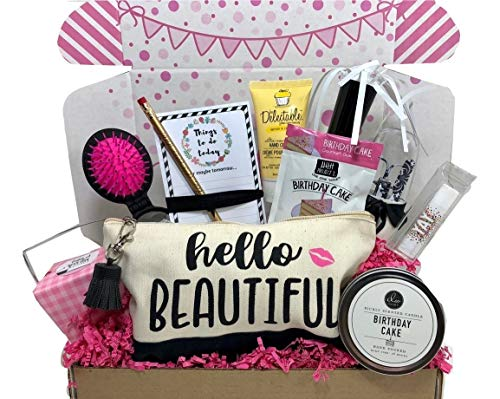 Complete Birthday Gift Basket Box for Her