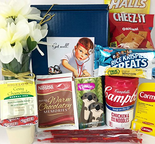 Get Well Gift Box Basket