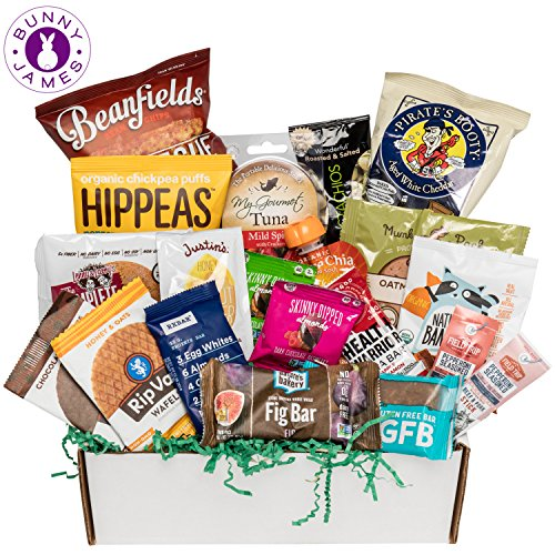 Healthy Sweet & Savory Snacks Sampler Box