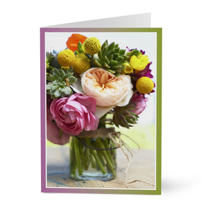 Floral Boquet Card from Hallmark