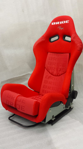 Bride GIAS Style Racing Bucket Seat Reclinable Wide Spec (Red FRP)