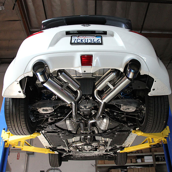 Nissan 370z Dual Canister Catback Exhaust Rev Motion