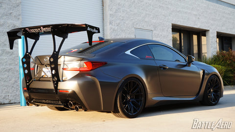 Battle Aero V4 Chassis Mount Kit for Lexus RC-F