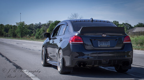 Battle Aero 15 Subaru Wrx Sti Duckbill Spoiler Rev Motion