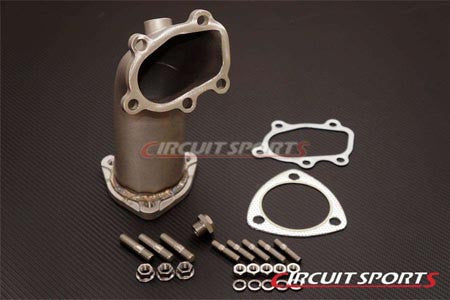 "S13 / S14 SR20 Circuit Sports V2 Lost Wax Casted Stainless Steel 3"" Turbo Elbow"