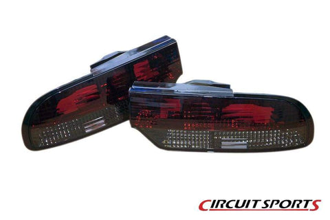 S13 180SX / Hatch Circuit Sports Smoked Rear Tail Light Set
