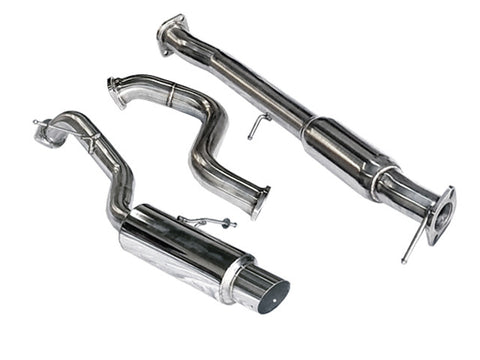 Tsudo 2013+ Ford Fiesta ST Catback Exhaust Single Exit