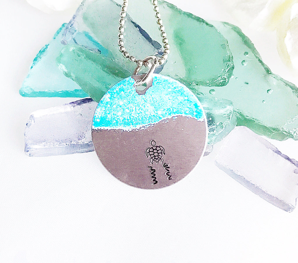 Ocean Inspirations ~ Going Home Necklace