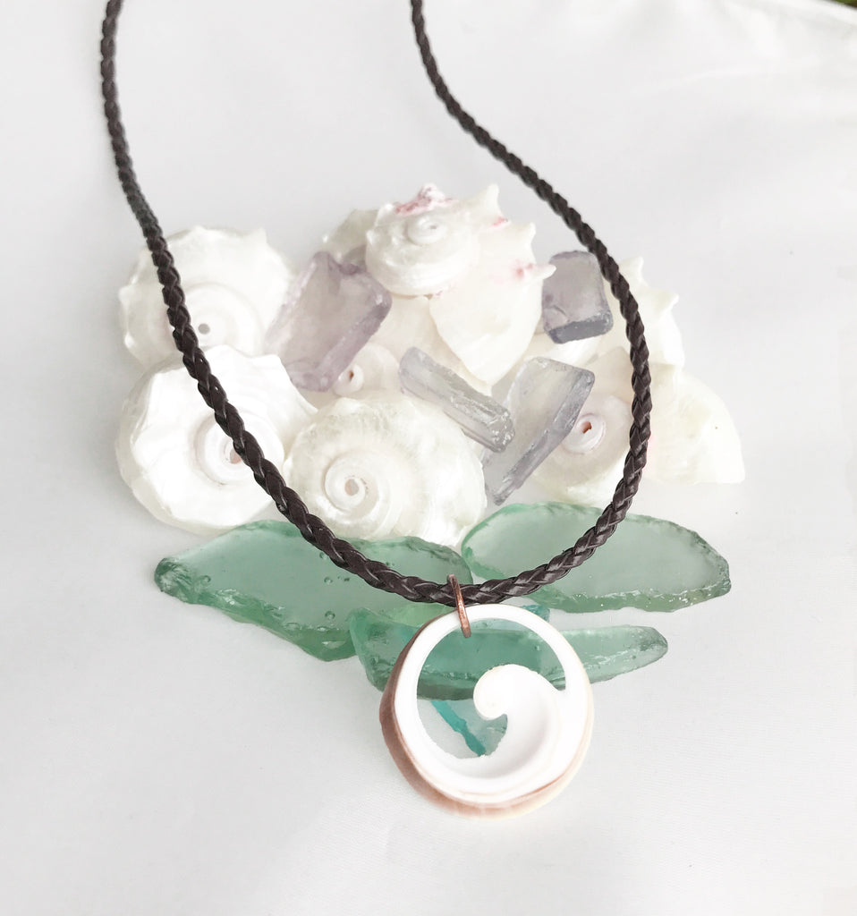 Seashells & Such ~ Catch A Wave Shell Necklace