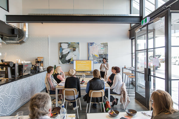Workshops at Holm Cafe
