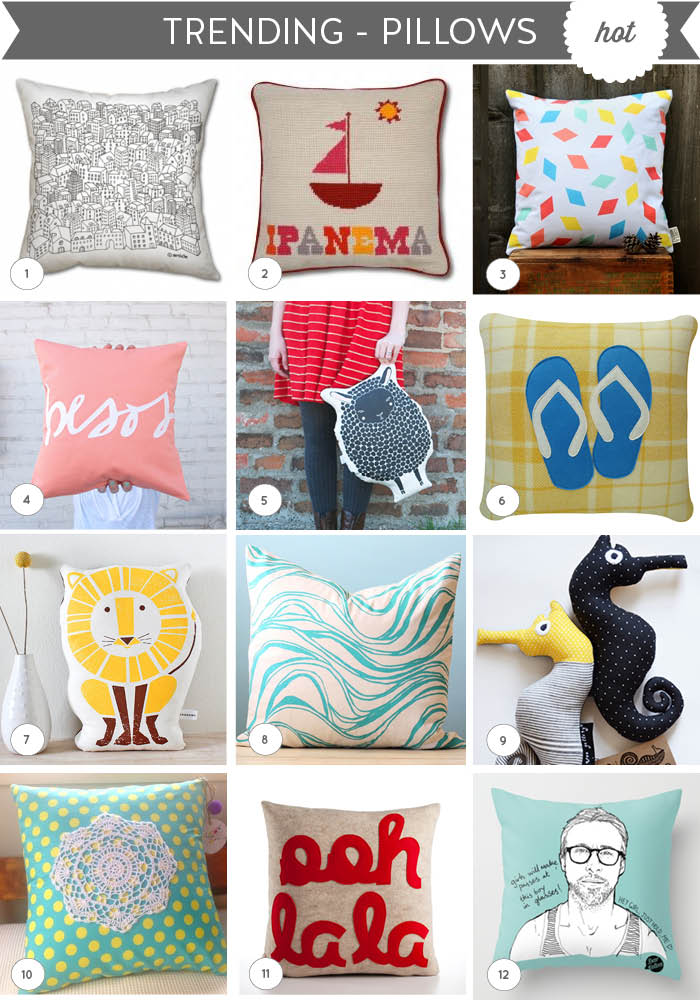 Trending - pillows