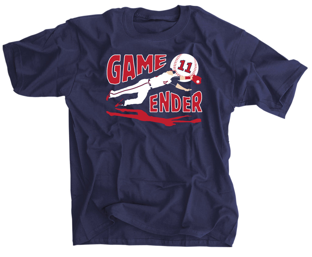 NEW SHIRT: GAME ENDER BASEBALL TEE!