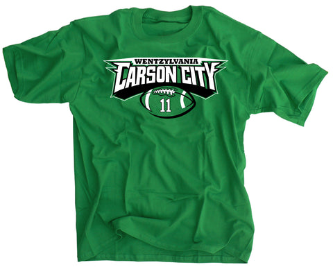 Carson City WENTZylvania Football T-Shirt
