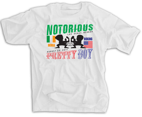 Notorious vs Pretty Boy Fight Shirt
