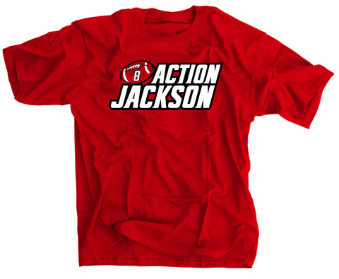 Lamar Action Jackson Louisville T-shirt