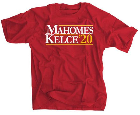 Patrick Mahomes and Travis Kelce for President 2020