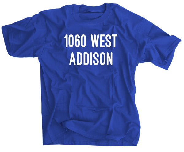 1060 WEST ADDISON CHICAGO BASEBALL SHIRT