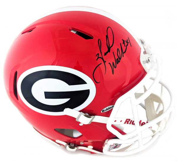 Herschel Walker Signed Georgia Bulldogs Riddell Speed Authentic Helmet