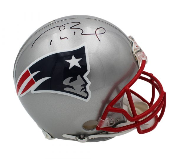 Tom Brady Signed New England Patriots Current Authentic NFL Helmet