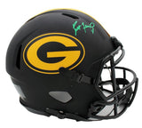 Brett Favre Signed Green Bay Packers Speed Authentic Eclipse NFL Helmet