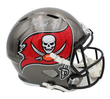 Rob Gronkowski Signed Tampa Bay Buccaneers Speed Full Size 2020 NFL Helmet