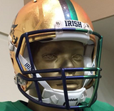 Notre Dame Fighting Irish 2015 SHAMROCK Series HydroFX Revolution Speed Authentic Full Size Boston - Helmet - SPORTSCRACK - 2