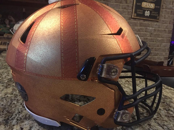 Notre Dame 2017 Knute Rockne Heritage Authentic Riddell Speed Helmet for sale