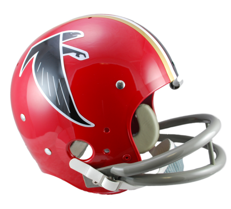 ATLANTA FALCONS TK SUSPENSION (66-69) HELMET