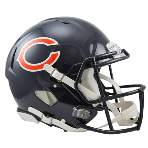 CHICAGO BEARS REVOLUTION SPEED AUTHENTIC HELMET - Helmet - SPORTSCRACK