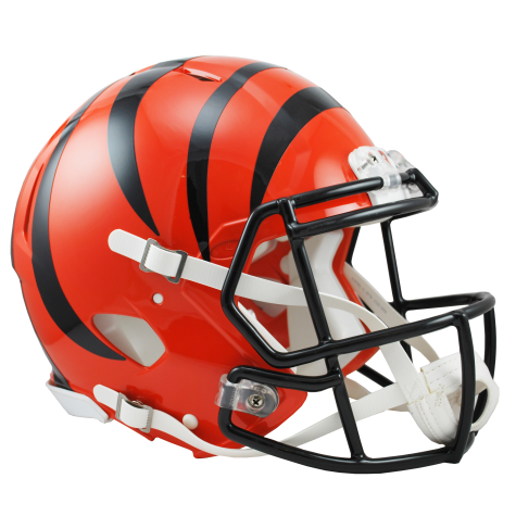 CINCINNATI BENGALS RIDDELL REVOLUTION SPEED AUTHENTIC HELMET