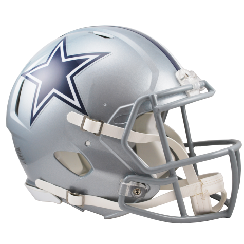 DALLAS COWBOYS RIDDELL REVOLUTION SPEED AUTHENTIC HELMET