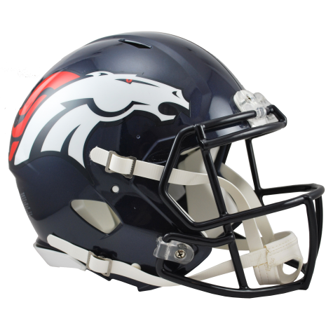 DENVER BRONCOS RIDDELL REVOLUTION SPEED AUTHENTIC HELMET
