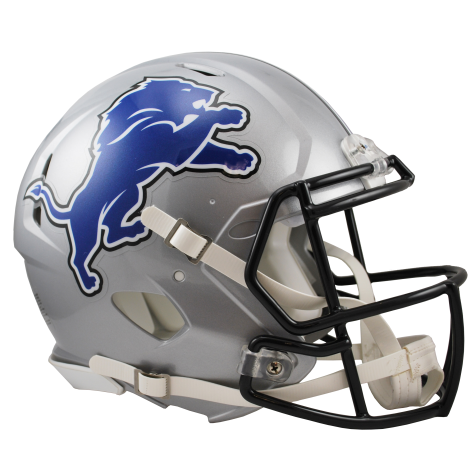 DETROIT LIONS REVOLUTION SPEED AUTHENTIC HELMET - Helmet - SPORTSCRACK