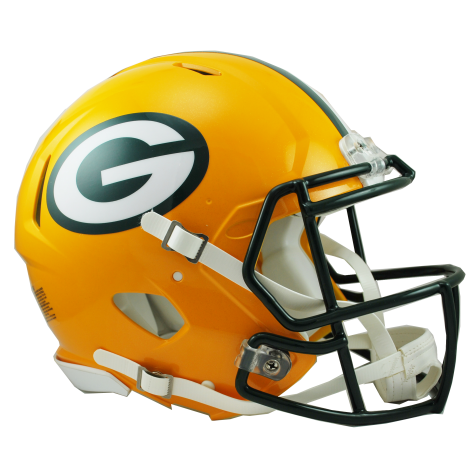 GREEN BAY PACKERS REVOLUTION SPEED AUTHENTIC HELMET