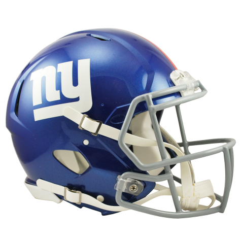 NEW YORK GIANTS RIDDELL REVOLUTION SPEED AUTHENTIC HELMET
