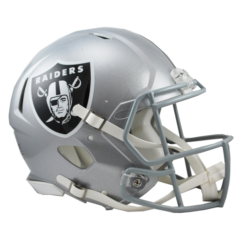 OAKLAND RAIDERS RIDDELL REVOLUTION SPEED AUTHENTIC HELMET