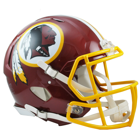 WASHINGTON REDSKINS REVOLUTION SPEED AUTHENTIC HELMET