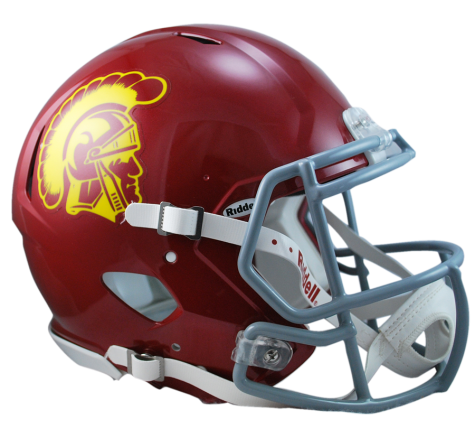 USC Trojans Riddell Revolution Speed Authentic Helmet - Helmet - SPORTSCRACK