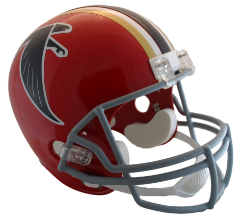 ATLANTA FALCONS VSR4 REPLICA THROWBACK (66-69) HELMET