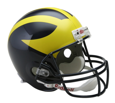MICHIGAN VSR4 REPLICA HELMET