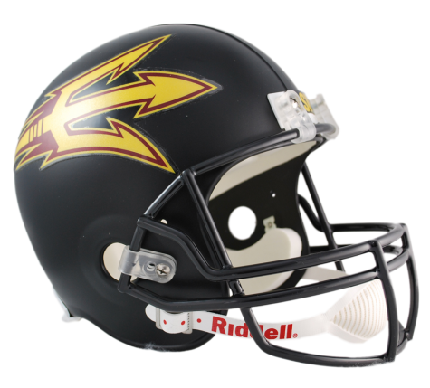 ARIZONA STATE BLACK VSR4 REPLICA HELMET