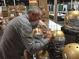 Joe Montana Autographed/Signed Notre Dame Fighting Irish Schutt Authentic NCAA Helmet