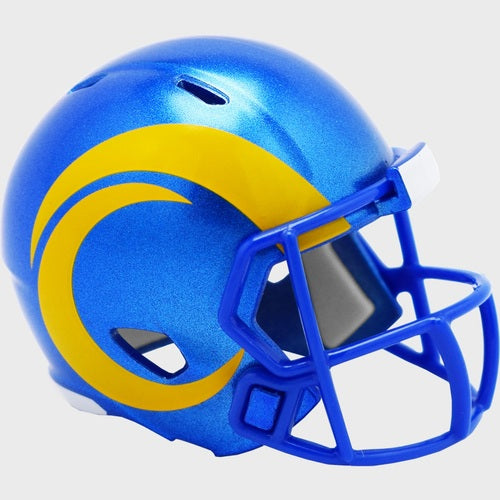 LOS ANGELES RAMS RIDDELL SPEED POCKET PRO HELMET NEW 2020
