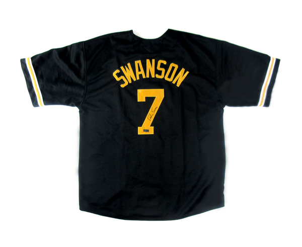 Dansby Swanson Signed Vanderbilt Commodores NCAA Black Custom Jersey